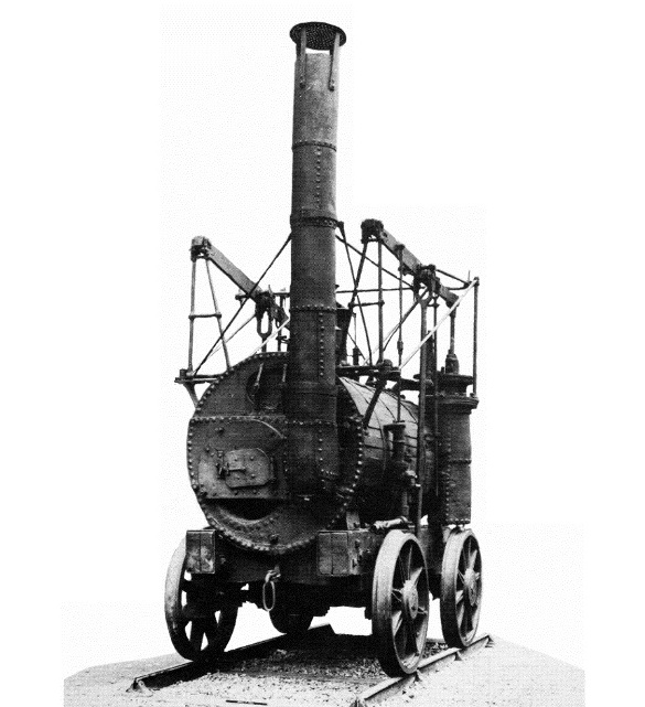 Puffing Billy firing end © The Science Museum, London