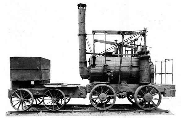 Puffing Billy side view © The Science Museum, London