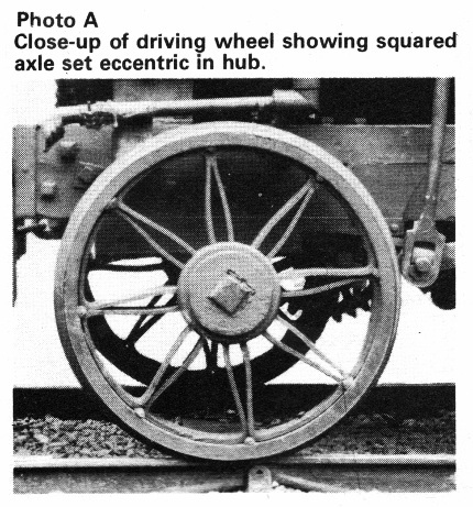 puffing billy wheel photo`