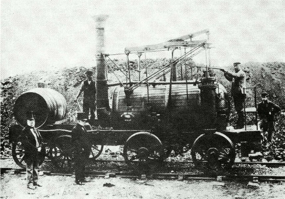 Wylam Dilly. sister engine to Puffing Billy © The Science Museum, London