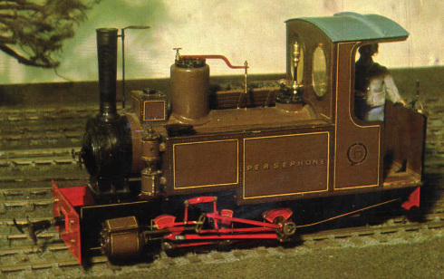 Persephone as rebuilt in 1973 as 0-6-0